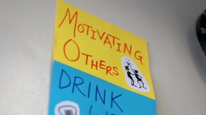 Motivate Others Poster
