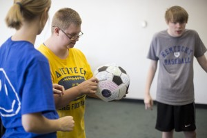 Wellness Questionaire Soccerball Game