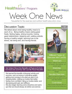 Picture of Week One Newsletter