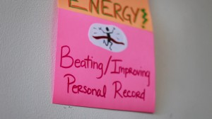 Beat Your Personal Record Poster
