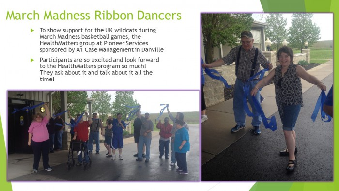 March Madness Ribbon Dancers