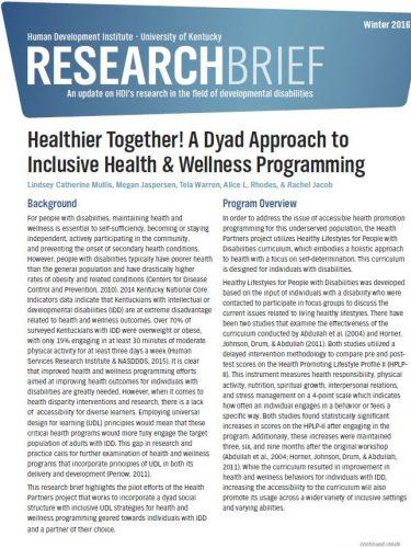 research brief intro page