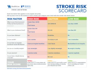 StrokeCare Scorecard & Factors