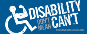 Disability Don't Mean Can't's Logo