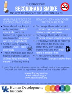 Secondhand Smoke Handout